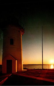 Massachusetts Cape Cod Nobska Lighthouse Near Woods Hole