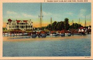 Ohio Toledo Yacht Club Bay View Park Curteich