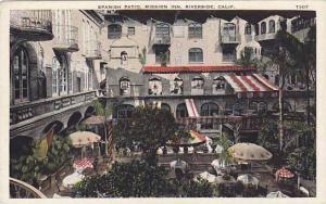 Spanish Patio, Mission Inn, Riverside,  California,   00-10s