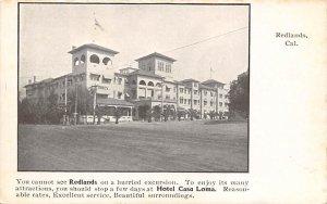 Hotel Casa Loma Redlands CA