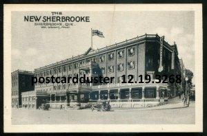 3268 - SHERBROOKE Quebec Postcard 1910s New Sherbrooke Hotel