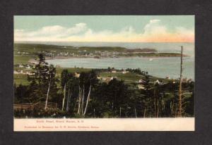 NB North Head Harbor Grand Manan New Brunswick Canada Postcard Carte Postale