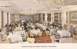 Interior,  Elegant Salle Du Barry,  Skyline,  Montreal,  Canada,  PU_1962