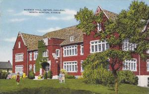 Exterior, Science Hall, Bethel College, North Newton,  Kansas, 30-40s