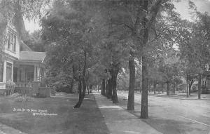 Wausau Wisconsin~Home @ 717 McIndoe Street~Real Photo Postcard c1910