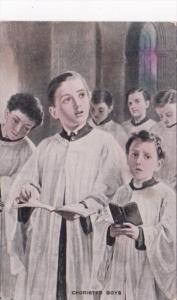 Church Interior Chorister Boys