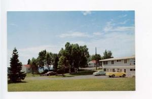 Tofte MN Olsen's Motel Old Cars Postcard