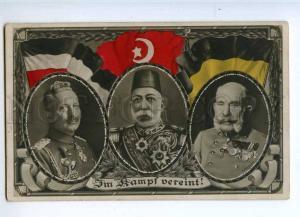 227162 WWI TURKEY Austria-Hungary GERMANY allies photo collage