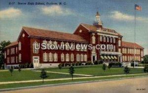 Senior High School in Durham, North Carolina
