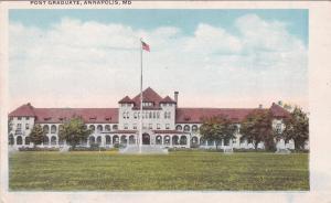ANNAPOLIS , Maryland , 10s-20s ;  Post Graduate