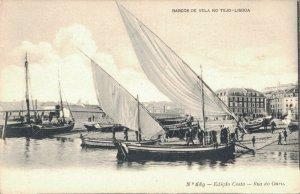 Portugal Barcos de Vela no tejo Lisboa 03.08