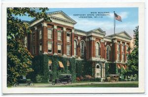Main Building Kentucky State University Lexington KY 1920s postcard