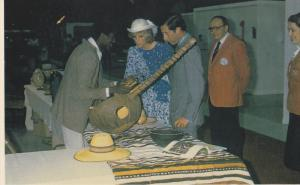 Charles & Diana In Canada, Inspect Exhibits Of Craft Skills At The Arts and C...
