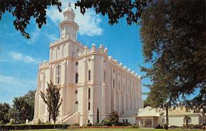 St George Utah~First Mormon Temple Built in State~Latter Day Saints~LDS~1971