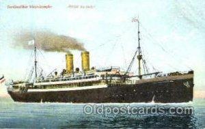 Norddeutschen Lloyd Lloyd Lloyd-Dampfer Steamer Ship Unused close to perfect ...