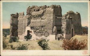 Casa Grande Ruins AZ 1902 Detroit Publishing Postcard