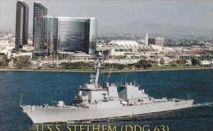 U S S STETHEM DDG 63