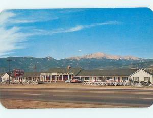 Unused Pre-1980 MOTEL SCENE Colorado Springs CO HJ8971