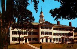 New Hampshire Hanover Dartmouth College Dartmouth Hall 1975