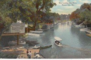 KANSAS CITY , Missouri , 00-10s ; Boat Landing , Blue River