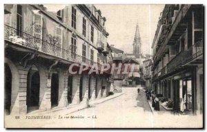 Old Postcard Plombieres Stanislas Street