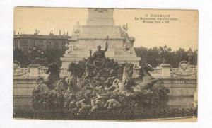 Monument des Girondins Groupe Sud,Bordeaux,France 1900-10s