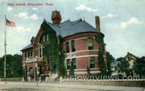 High School Gloucester MA 1915