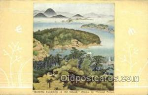 Morning Calmness of the island Nippon Yusen Kaisha Ship, NYK Shipping Postcar...
