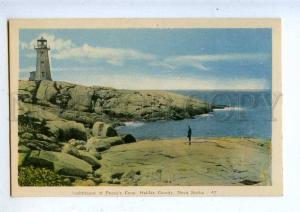 203259 CANADA Nova Scotia Halifax LIGHTHOUSE at Peggys Cove PC