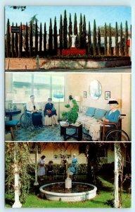DUARTE, California CA  ~ SANTA TERESITA HOSPITAL Multi View c1950s-60s Postcard