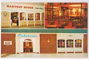Harvest House Cafeterias & Coffe Shops, Boston MA
