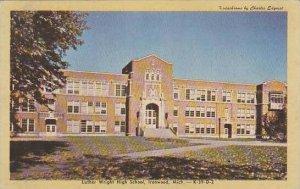 Michigan Ironwood Luther Wright High School