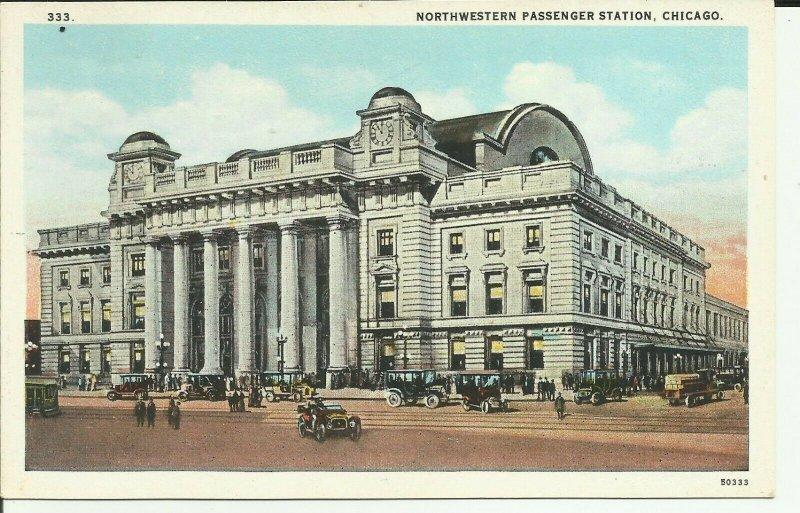 Chicago,Ill., Northwestern Passenger Station
