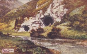 TUCK #1357 , Derbyshire Dales Series; Dove Holes , Dovedale , England , PU-19...
