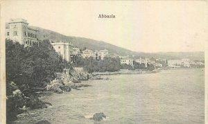 Postcard Croatia Abbazia