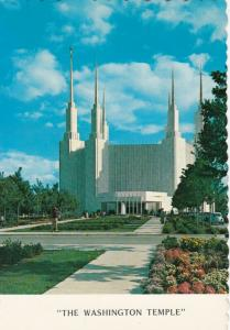Kensington, Maryland, 50-70s ; Washington Temple , Church of Jesus of Latter Day