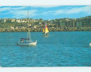 Unused Pre-1980 PANORAMIC VIEW Marina Del Rey - Los Angeles California CA hp3877