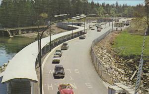B.C. Ferries Terminal , SWARTZ BAY , B.C., Canada , 50-60s