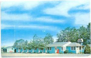 Sunset Motel, Miles City, Montana, MT, Chrome