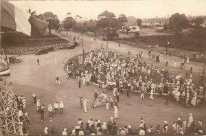 Moyen Congo Pointe Noire Partie de la Foire Exposition annuelle French Congo