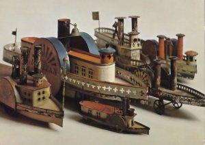 Poland Polish Toy Model Ship House Transport Collection Postcard