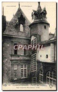 Postcard Old House Clermont Ferrand Cage architects & # 39escalier Renaissance