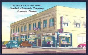 Mercantile Company Lovelock NV unused c1940's
