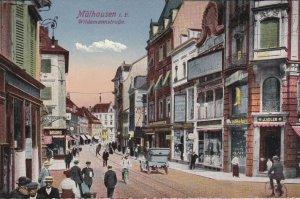 Mühlhausen (when Germany) , Bas-Rhin , Now France , 00-10s ; Wildemannstrass...