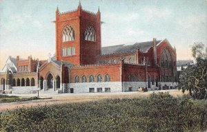 NEW M.E. CHURCH Methodist Episcopal Church San Diego California Postcard c1910s