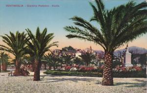 VENTIMIGLIA, Liguria, Italy, 00-10s ; Giardino Pubblico - Aiuola