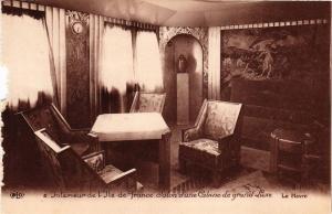 CPA Paquebot ILE-DE-FRANCE Salon d'une Cabine de grand Luxe SHIPS (704244)