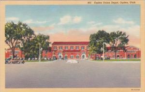 Utah Ogden Union Depot Curteich