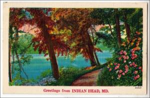 Greetings from Indian Head MD