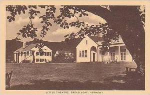 Vermont Bread Loaf Little Theatre Artvue